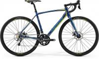 Велосипед Merida CycloCross 300 Petrol (Yellow/Lite Teal) 2019 SM(52см)